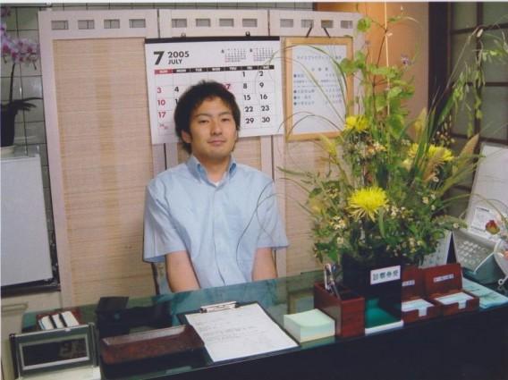 2005年開業時の院長