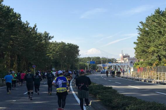 湘南国際マラソン 富士山