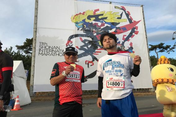 南国際マラソン 富士雄さん