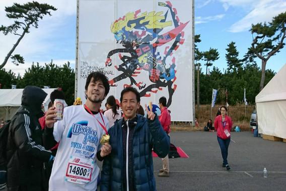 湘南国際マラソン 忠隈さん