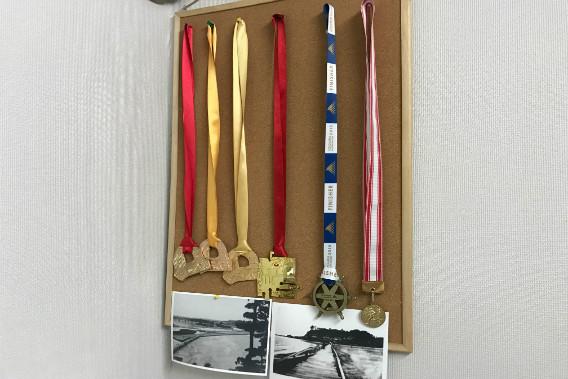 湘南国際マラソン 完走メダル