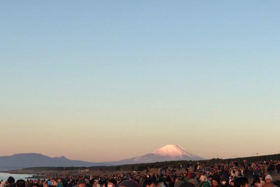 2017 初日の出 富士山