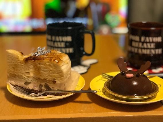 ららぽーと平塚 FLO 購入済みケーキ シブスト