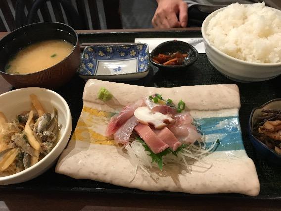 紅谷町 魚屋 魚八 刺身定食
