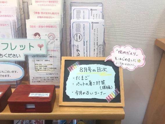 湘南カイロ平塚レター8月号